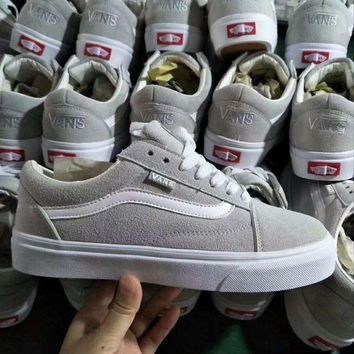 Originals Vans OLD SKOOL PRO Classic Gray White Sneaker Casual Shoes G