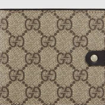 One-nice™ Gucci GG Wallet Supreme Compact Wallet, Brown #281968, NWT