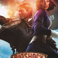 Bioshock Infinite Cast Video Game Poster 22x34