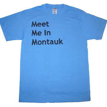 Eternal Sunshine Shirt Meet Me In Montauk by NudeAndLoiteringTees