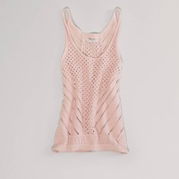 AE Open Stitch Tank | American Eagle Outfitters
