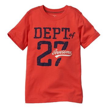 Carter's ''Department of 27 Awesome'' - Boys 4-7