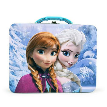 Disney Frozen Tin Lunch Box - Purple