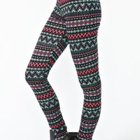 Aztec Stripe Leggings
