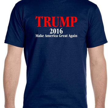 Donald TRUMP President T Shirt Make America Great Again!