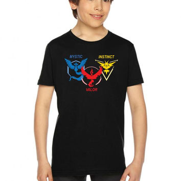 POKEMON GO TRIO TEAM Youth Tees