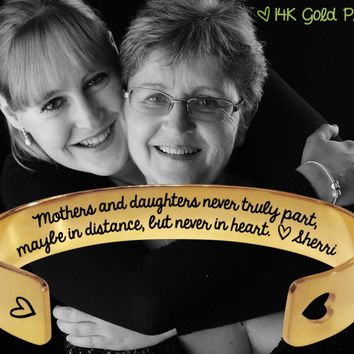 Mothers and daughters Gold Bracelet