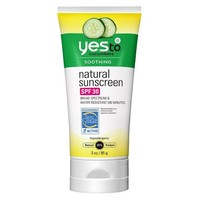 Yes to Cucumbers Natural Sunscreen SPF 30 - 3 oz