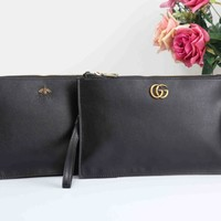 GUCCI Popular Women Men Briefcase Hand Bag Envelope Bag I-XS-PJ-BB