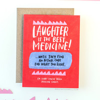 Laughter is the Best Medicine Empathy Card™