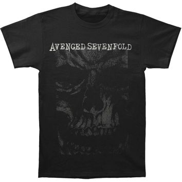 Avenged Sevenfold Men's  AVS In Your Face Mens Regular T T-shirt Black