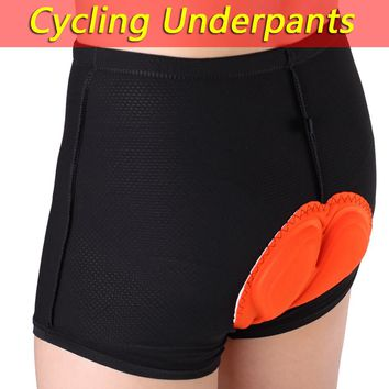 Mens CoolMax Padded Bicycle Bike Cycling Shorts Underwear Knickers Comfortable Underpants Base Shorts Breathe Freely