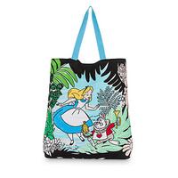 Alice in Wonderland Canvas Tote | Disney Store