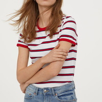 H&M Short Jersey Top $12.99