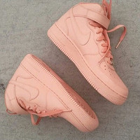 Pale Pink Air Force 1s GS