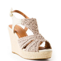 Bonaire Crochet Wedge