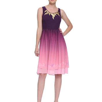 Her Universe Destination Disney Tangled Ombré Dress