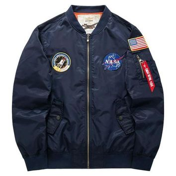 DCCKHC3 Men's Casual Collar Jacket Jacket Air Force One