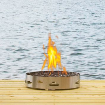 Napoleon Transportable Patioflame Gas Fire Pit with Glass
