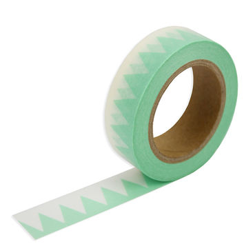 Mint Triangle Washi Tape
