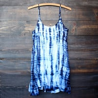 tie dye for dress | bohemian blue