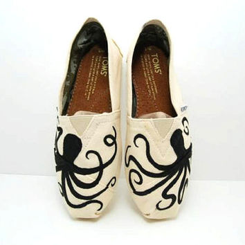 Octopus Custom TOMS Shoes