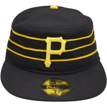 Pittsburgh Pirates Pillbox Hat Vintage Throwback Fitted Cap