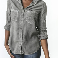 Seamed Pocket Shirt by CLOTH AND STONE