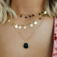 Ready For Anything Necklace: Gold
