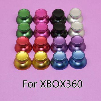YuXi [1pair=2pcs] Rocker caps for xbox360 console Aluminum Alloy Metallic Metal Analog Thumbstick fit for xbox 360 controller