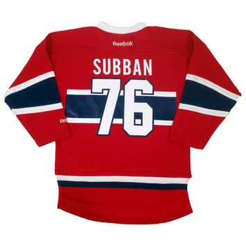 PK Subban Montreal Canadiens 2015-16 Reebok Child Replica (4-6X) Home NHL Hockey Jersey