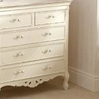 Camille White Bedroom Collection | Dunelm