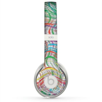 The Abstract Woven Color Pattern Skin for the Beats by Dre Solo 2 Headphones