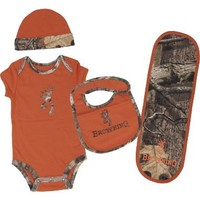 Cabela's: Browning® Infants' Four-Piece Camo Set