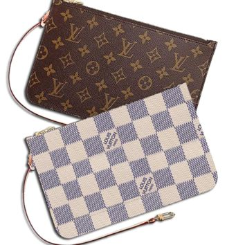 LV Wallet Louis Vuitton Women Louis Vuitton Coin purse Wrist Bag Cute Wallet B