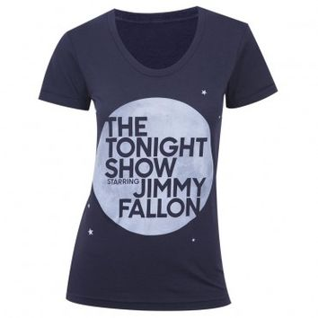 THE TONIGHT SHOW STARRING JIMMY FALLON WOMEN'S JUNIOR FIT T-SHIRT