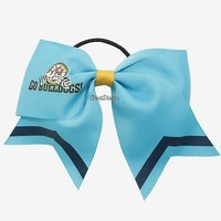 Licensed cool Riverdale High School Bulldogs Cheer Bow Hair Tie Pony Tail Hot Topic Exclusive