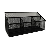Mesh Desktop Tool Holder Black - Room Essentials™