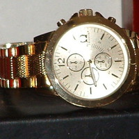 Pre-Owned Men's Legion Gold Color 33303 Sport Analog Watch