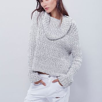 Free People Twisted Cable Turtleneck