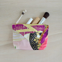 Natsuki makeup bag - japanese pattern cosmetic bag