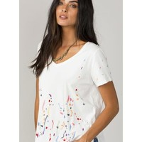 MM Vintage Women's White Let Loose Top