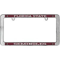 Florida State Seminoles Thin Metal License Plate Frame