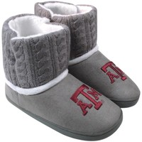 Texas A&M Aggies Ladies Knit Booties - Gray