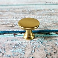 Gold Mushroom Drawer Knobs Industrial Furniture Knobs Modern Dresser Knobs Gold Decorative Knobs Gold Drawer Pulls Gold Dresser Hardware