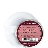 Bourbon Sea Salt Caramel Scentportable Fragrance Refill | Bath And Body Works