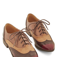 ModCloth Menswear Inspired Flair Shall We Go? Flat