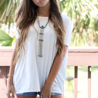 White Wine Piko Short Sleeve