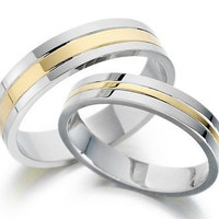 FANCY HIS AND HER LOVE 925 STERLING SILVER FOR ENAGAGEMENT AND WEDDING RING SETS