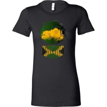 Jamaica Skyline Horizon Sunset Love Jamaican Bella Shirt